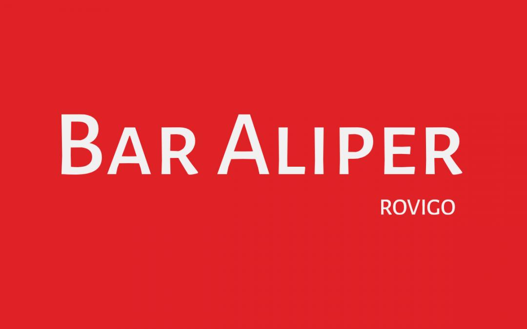 BAR ALIPER